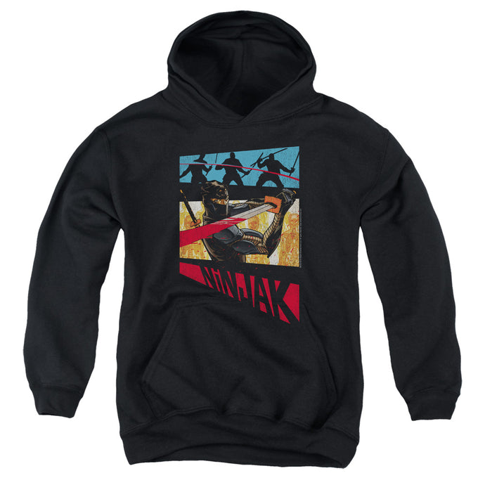 Ninjak - Panel Youth Pull Over Hoodie - Special Holiday Gift