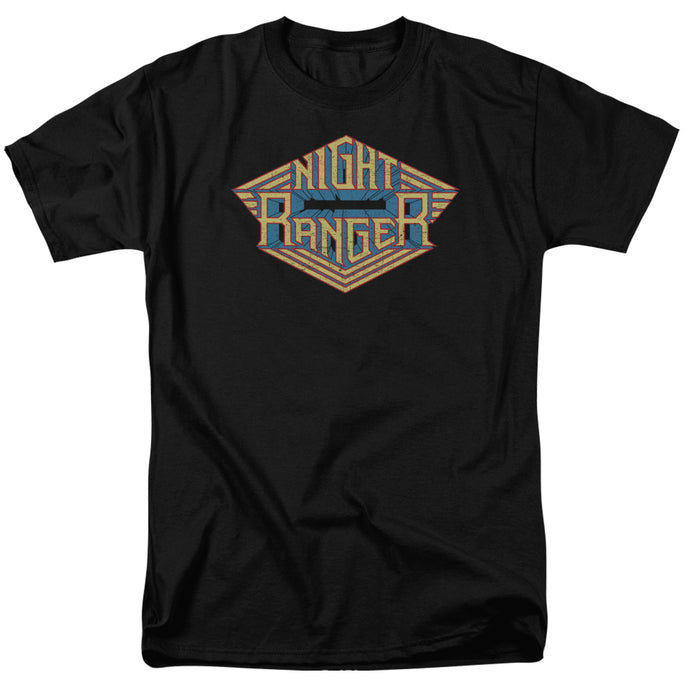 Night Ranger - Logo Short Sleeve Adult 18/1 Tee - Special Holiday Gift