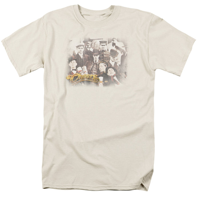 Cheers - Opening Distressed Short Sleeve Adult 18/1 Tee - Special Holiday Gift
