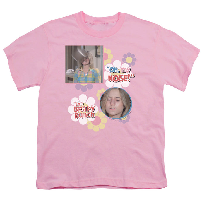Brady Bunch - Oh, My Nose! Short Sleeve Youth 18/1 Tee - Special Holiday Gift