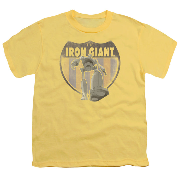 Iron Giant - Patch Short Sleeve Youth 18/1 Tee - Special Holiday Gift