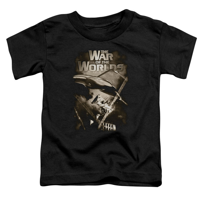 War Of The Worlds - Death Rays Short Sleeve Toddler Tee - Special Holiday Gift