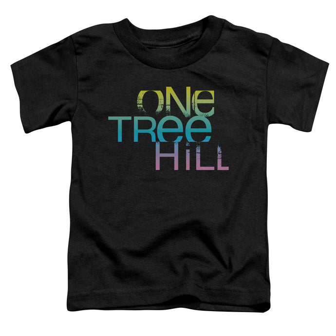 One Tree Hill - Color Blend Logo Short Sleeve Toddler Tee - Special Holiday Gift