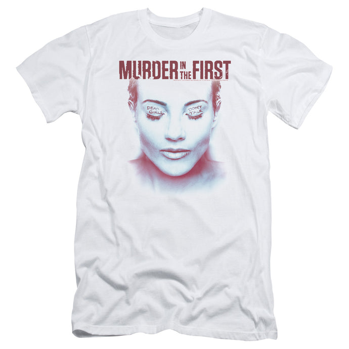 Murder In The First - Don't Talk Short Sleeve Adult 30/1 Tee - Special Holiday Gift