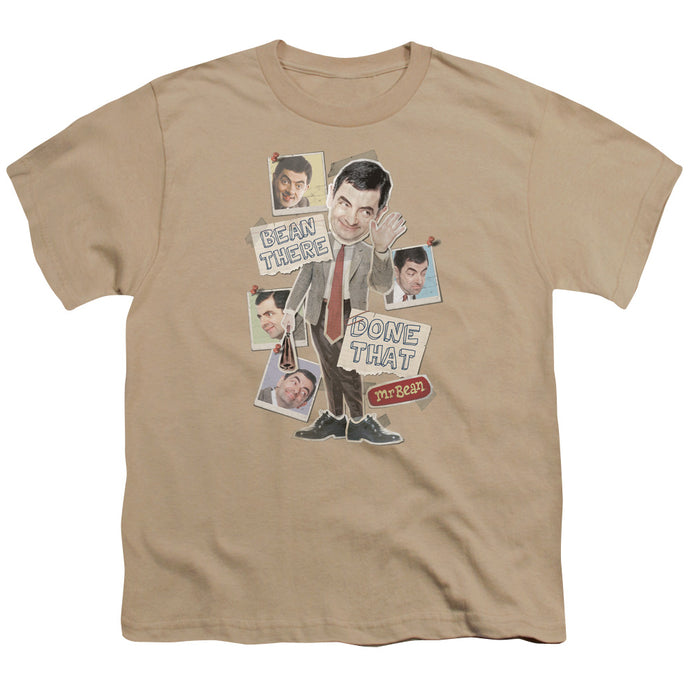 Mr Bean - Bean There Short Sleeve Youth 18/1 Tee - Special Holiday Gift