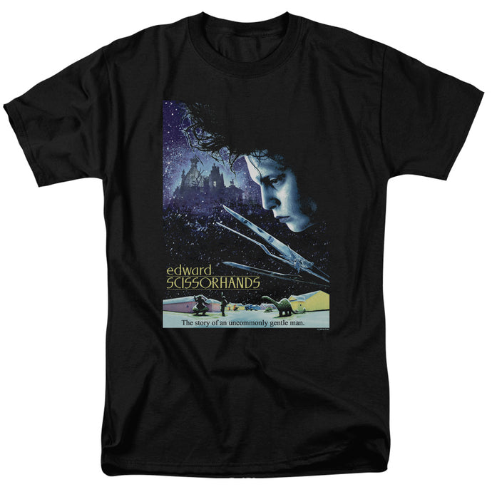 Edward Scissorhands - Poster Short Sleeve Adult 18/1 Tee - Special Holiday Gift