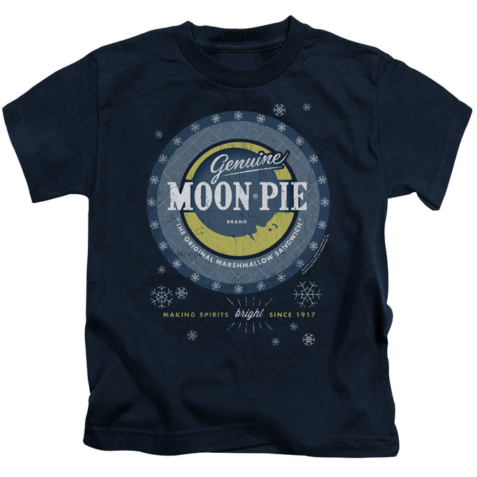 Moon Pie - Snowing Moon Pies Short Sleeve Juvenile 18/1 Tee - Special Holiday Gift