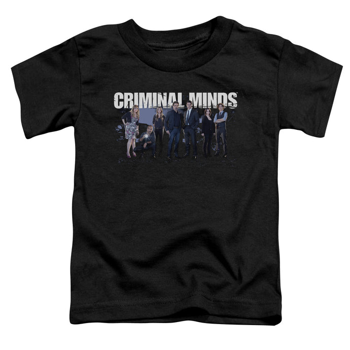 Criminal Minds - Season 10 Cast Short Sleeve Toddler Tee - Special Holiday Gift