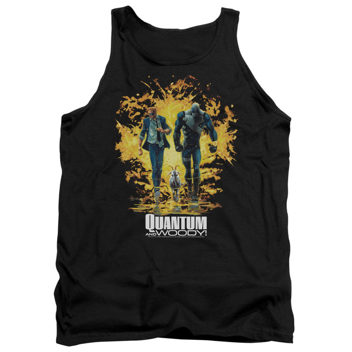 Quantum And Woody - Explosion Adult Tank - Special Holiday Gift