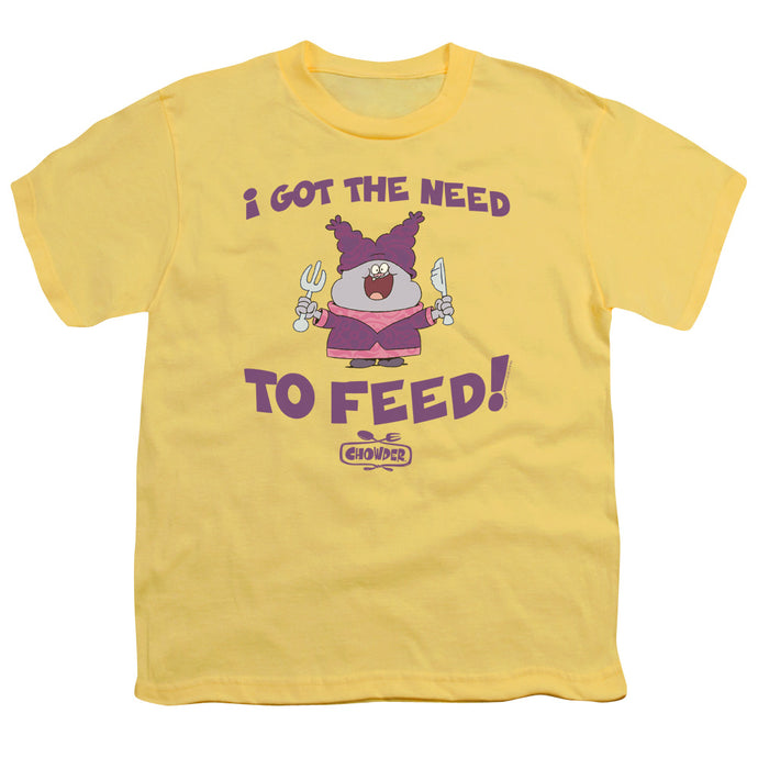 Chowder - The Need Short Sleeve Youth 18/1 Tee - Special Holiday Gift