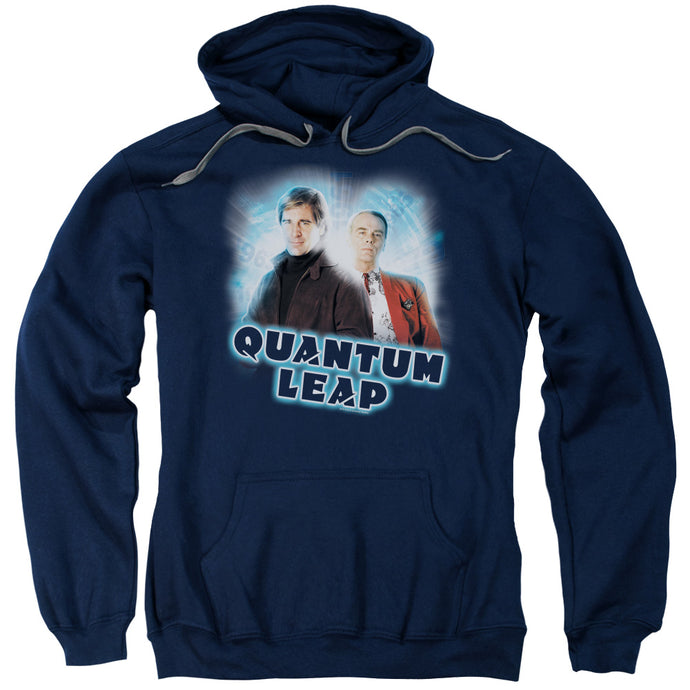 Quantum Leap - Sam And Al Adult Pull Over Hoodie - Special Holiday Gift
