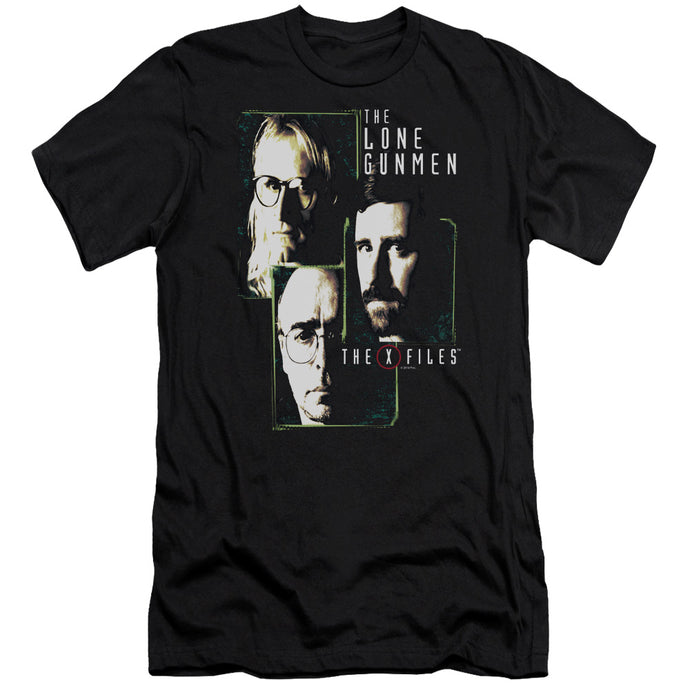 X Files - Lone Gunmen Premium Canvas Adult Slim Fit 30/1 - Special Holiday Gift