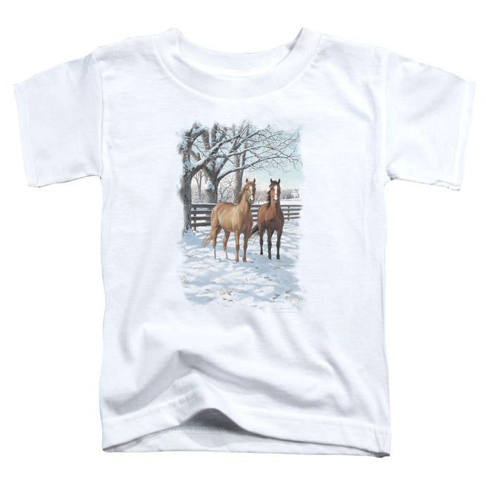 Wildlife - Coffee And Chocolate Short Sleeve Toddler Tee - Special Holiday Gift