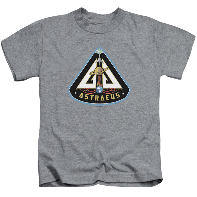 Eureka - Astraeus Mission Patch Short Sleeve Juvenile 18/1 Tee - Special Holiday Gift