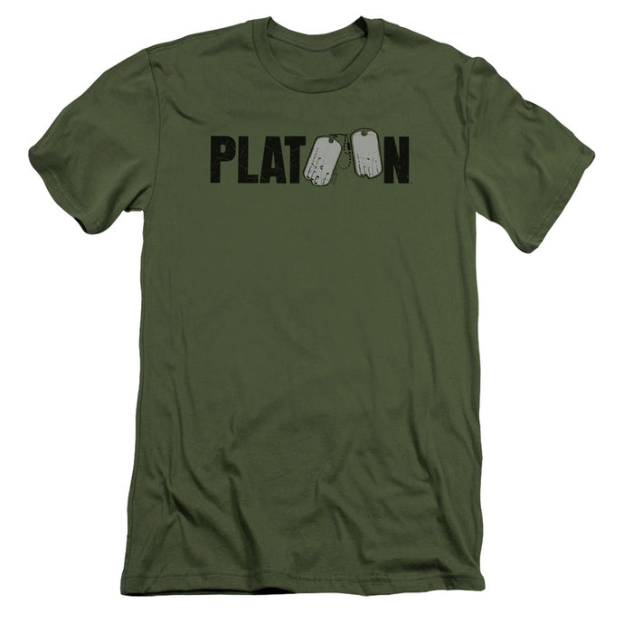 Platoon - Logo Short Sleeve Adult 30/1 Tee - Special Holiday Gift