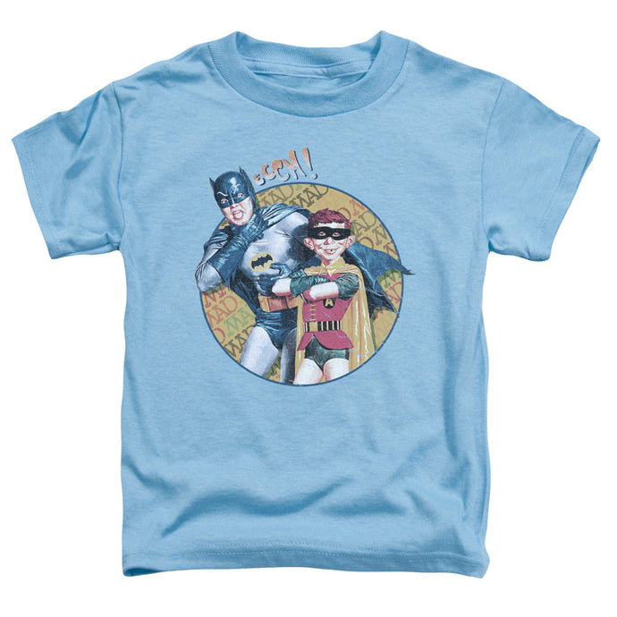 Mad - Batman And Alfred Short Sleeve Toddler Tee - Special Holiday Gift
