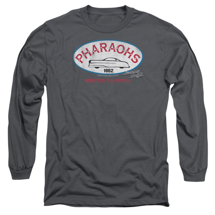American Graffiti - Pharaohs Long Sleeve Adult 18/1 Tee - Special Holiday Gift