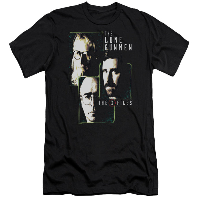 X Files - Lone Gunmen Short Sleeve Adult 30/1 Tee - Special Holiday Gift