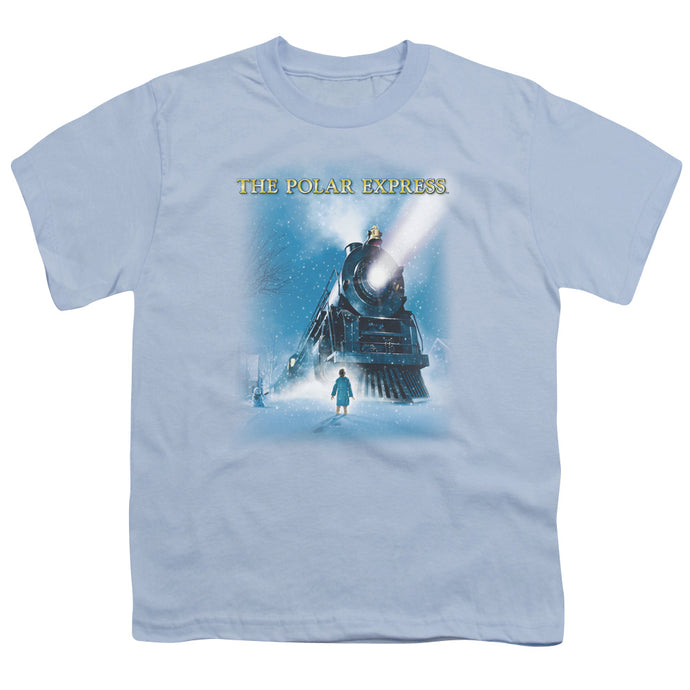 Polar Express - Big Train Short Sleeve Youth 18/1 Tee - Special Holiday Gift