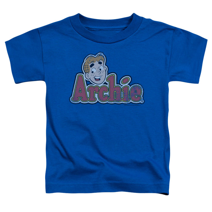 Archie Comics - Distressed Archie Logo Short Sleeve Toddler Tee - Special Holiday Gift