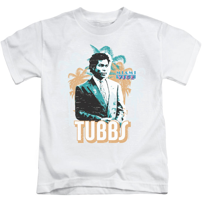 Miami Vice - Tubbs Short Sleeve Juvenile 18/1 Tee - Special Holiday Gift