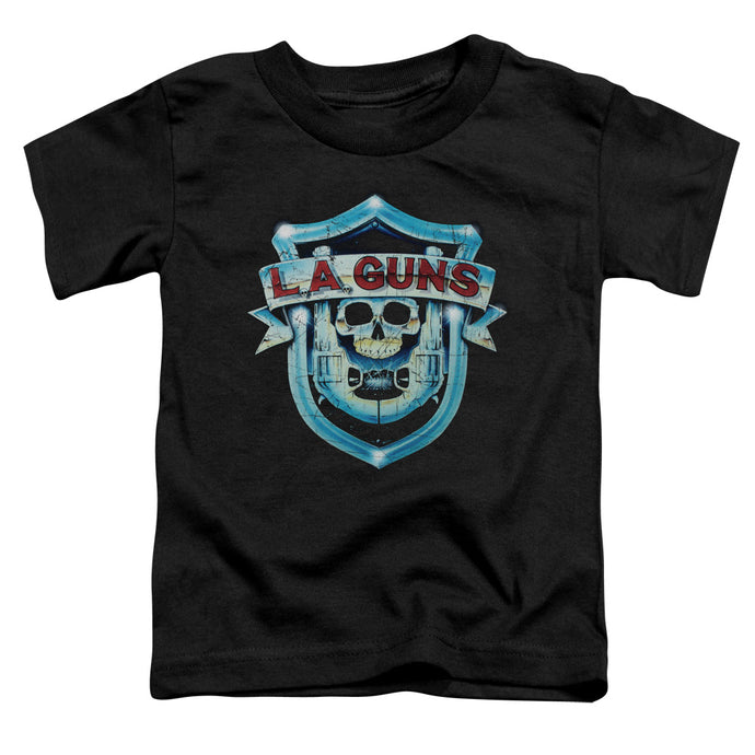 La Guns - La Guns Shield Short Sleeve Toddler Tee - Special Holiday Gift