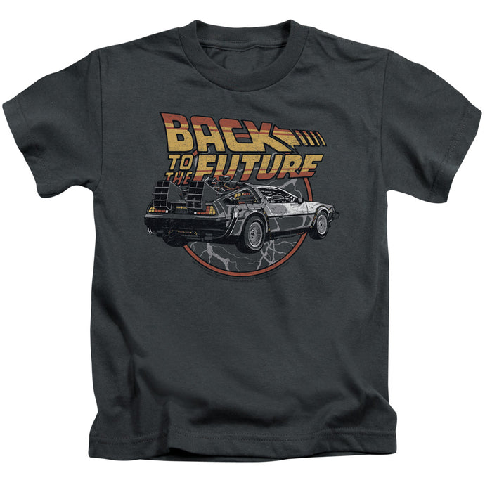 Back To The Future - Time Machine Short Sleeve Juvenile 18/1 Tee - Special Holiday Gift