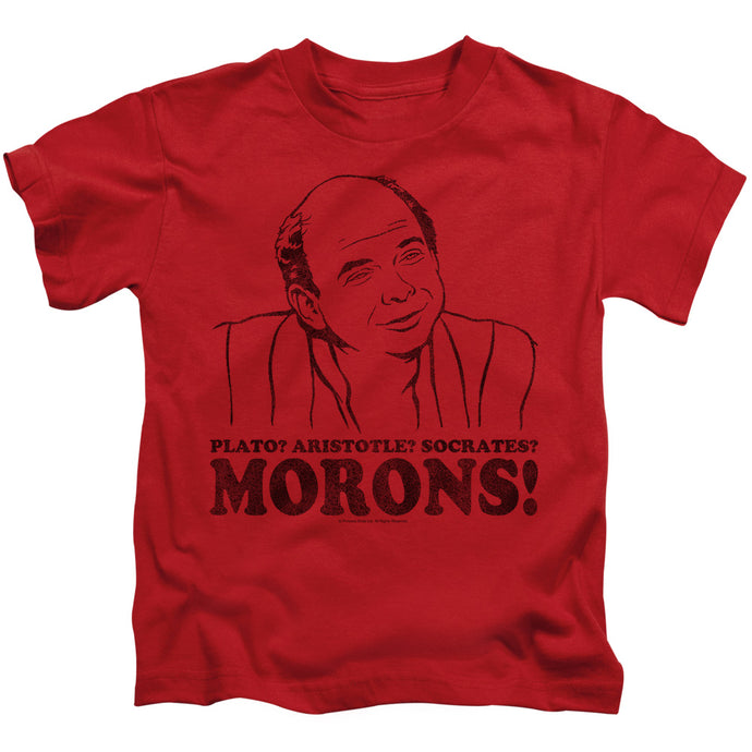 Princess Bride - Morons Short Sleeve Juvenile 18/1 Tee - Special Holiday Gift