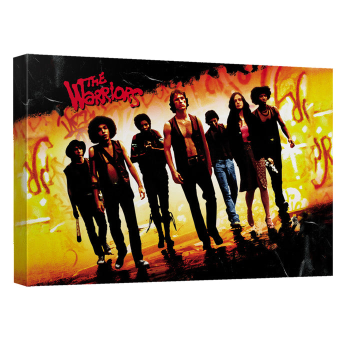 Warriors - Walk Canvas Wall Art With Back Board - Special Holiday Gift