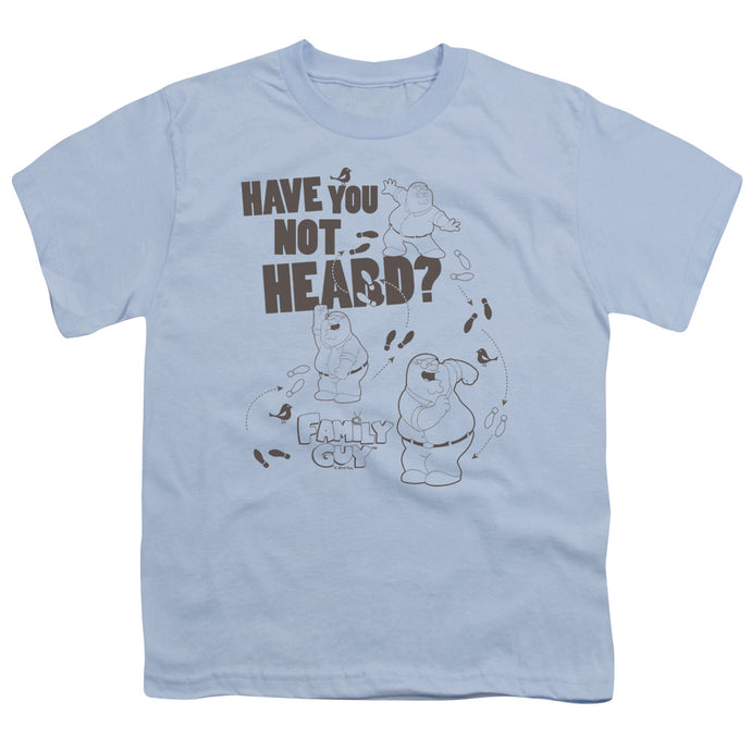Family Guy - Not Heard Short Sleeve Youth 18/1 Tee - Special Holiday Gift