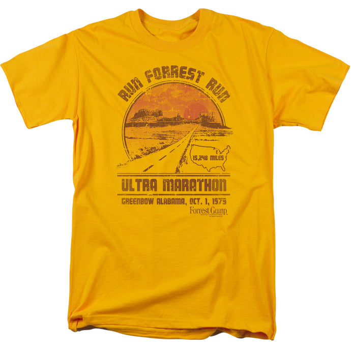 Forrest Gump - Ultra Marathon Short Sleeve Adult 18/1 Tee - Special Holiday Gift
