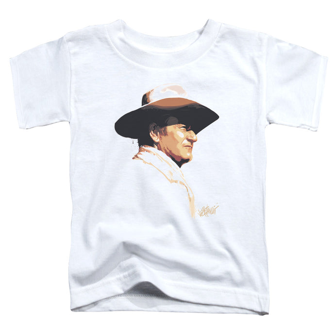 John Wayne - Painted Profile Short Sleeve Toddler Tee - Special Holiday Gift