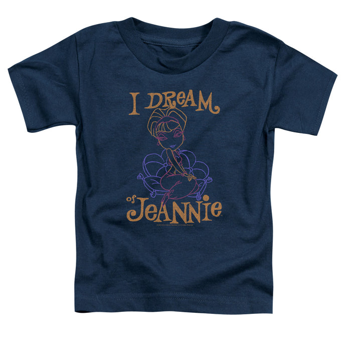 I Dream Of Jeannie - Jeannie Paint Short Sleeve Toddler Tee - Special Holiday Gift