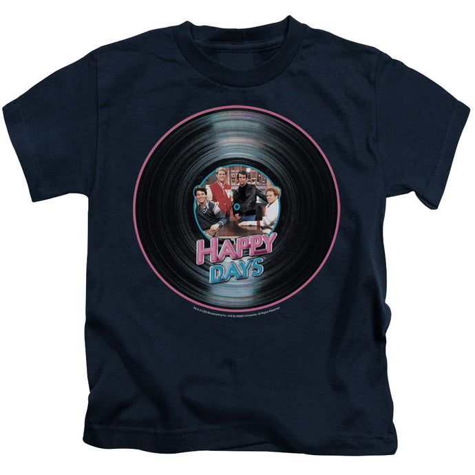 Happy Days - On The Record Short Sleeve Juvenile 18/1 Tee - Special Holiday Gift