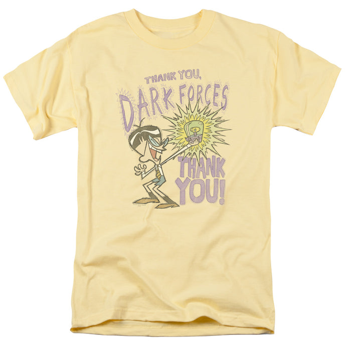 Dexter's Laboratory - Dark Forces Short Sleeve Adult 18/1 Tee - Special Holiday Gift