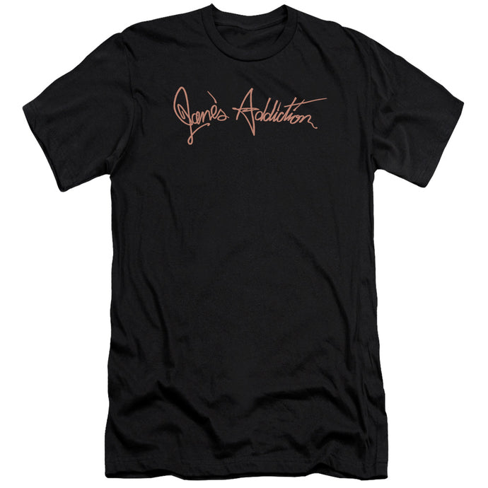 Janes Addiction - Script Logo Short Sleeve Adult 30/1 Tee - Special Holiday Gift