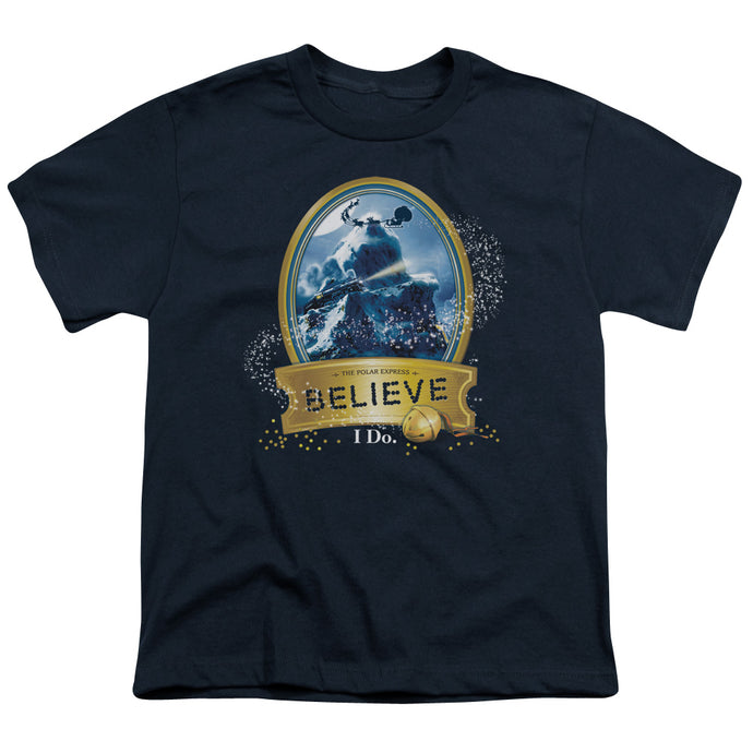 Polar Express - True Believer Short Sleeve Youth 18/1 Tee - Special Holiday Gift