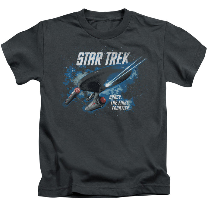 Star Trek - The Final Frontier Short Sleeve Juvenile 18/1 Tee - Special Holiday Gift