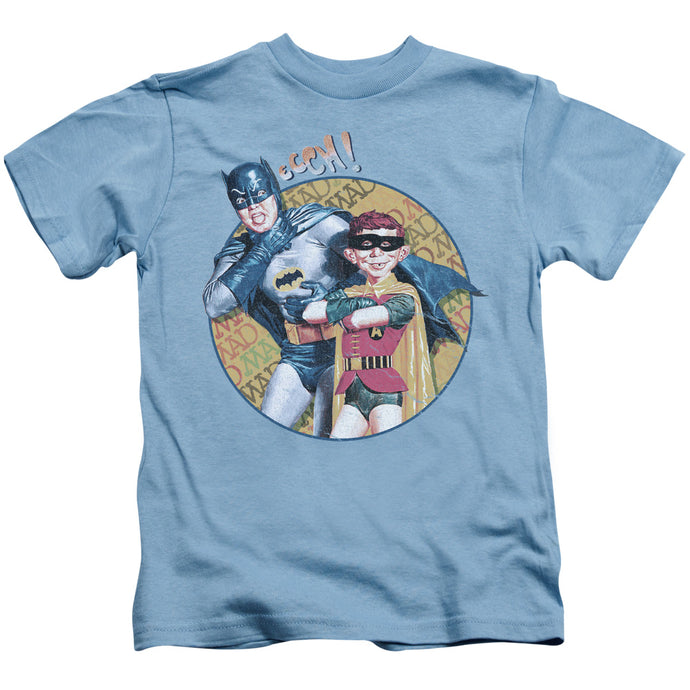 Mad - Batman And Alfred Short Sleeve Juvenile 18/1 Tee - Special Holiday Gift