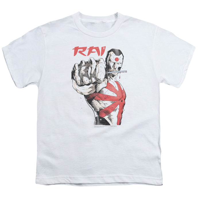 Rai - Sword Drawn Short Sleeve Youth 18/1 Tee - Special Holiday Gift