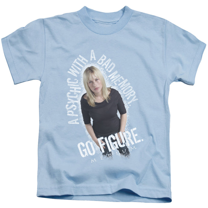 Medium - Go Figure Short Sleeve Juvenile 18/1 Tee - Special Holiday Gift