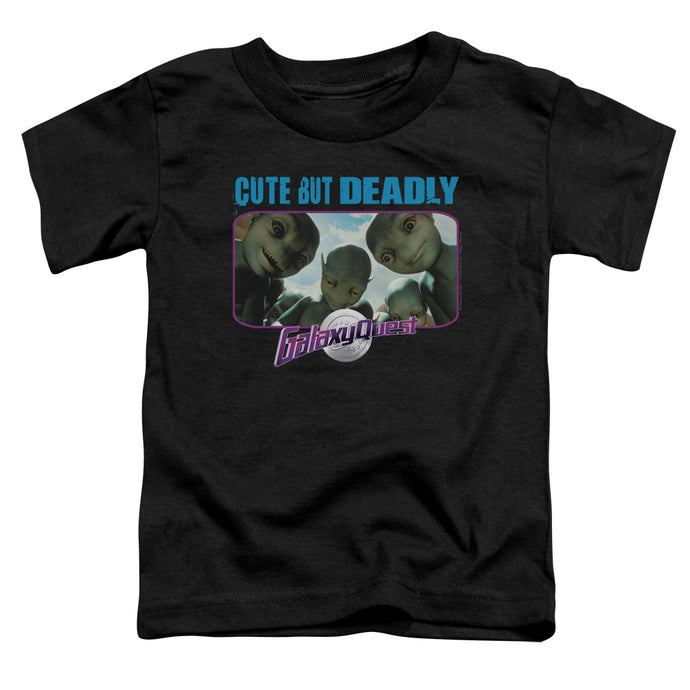 Galaxy Quest - Cute But Deadly Short Sleeve Toddler Tee - Special Holiday Gift