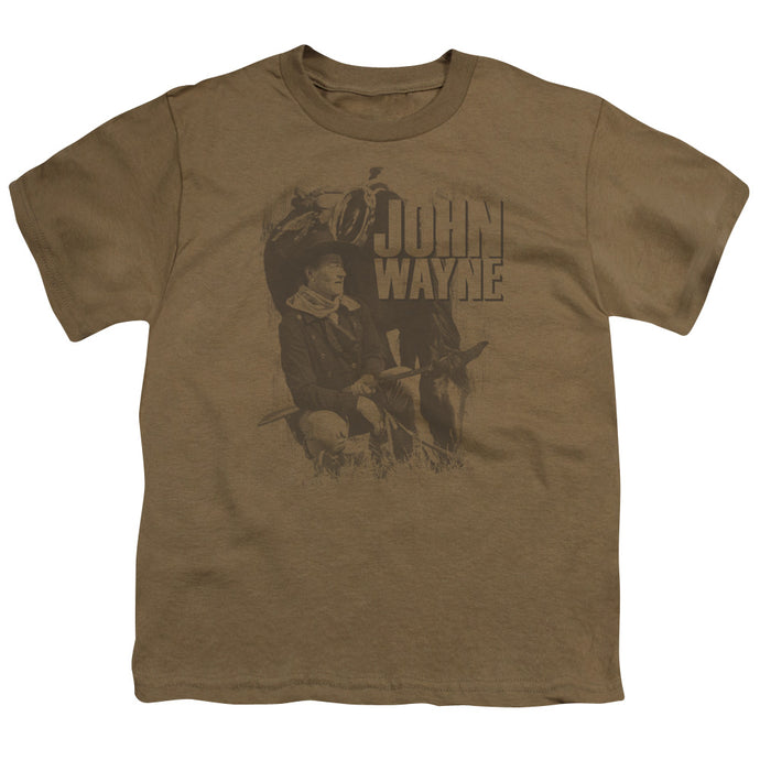 John Wayne - In The West Short Sleeve Youth 18/1 Tee - Special Holiday Gift