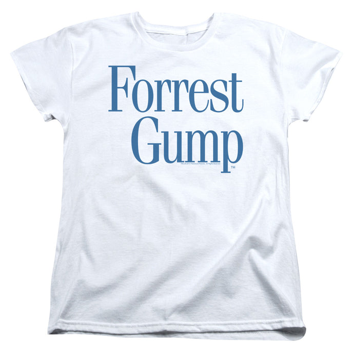 Forrest Gump - Logo Short Sleeve Women's Tee - Special Holiday Gift