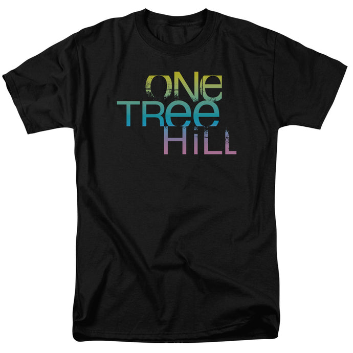 One Tree Hill - Color Blend Logo Short Sleeve Adult 18/1 Tee - Special Holiday Gift