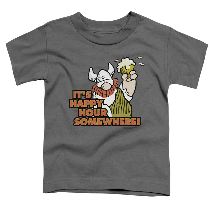 Hagar The Horrible - Happy Hour Short Sleeve Toddler Tee - Special Holiday Gift