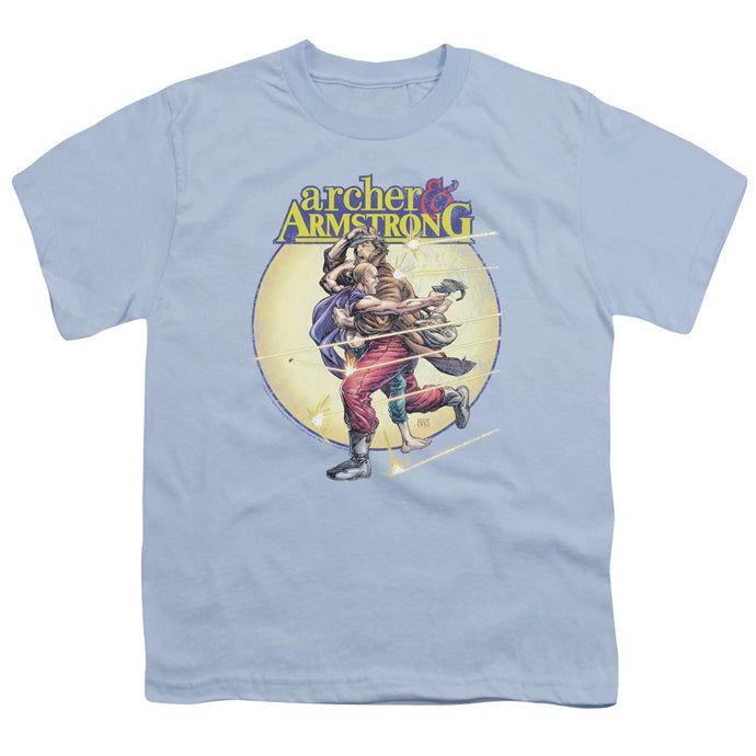 Archer & Armstrong - Vintage A & A Short Sleeve Youth 18/1 Tee - Special Holiday Gift