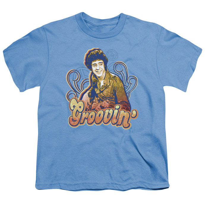 Brady Bunch - Groovin Short Sleeve Youth 18/1 Tee - Special Holiday Gift