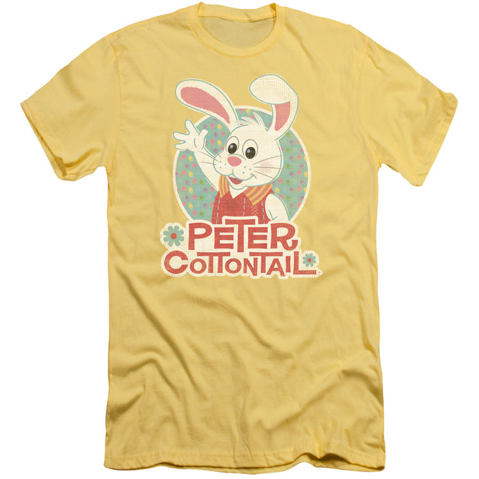 Here Comes Peter Cottontail - Peter Wave Short Sleeve Adult 30/1 Tee - Special Holiday Gift