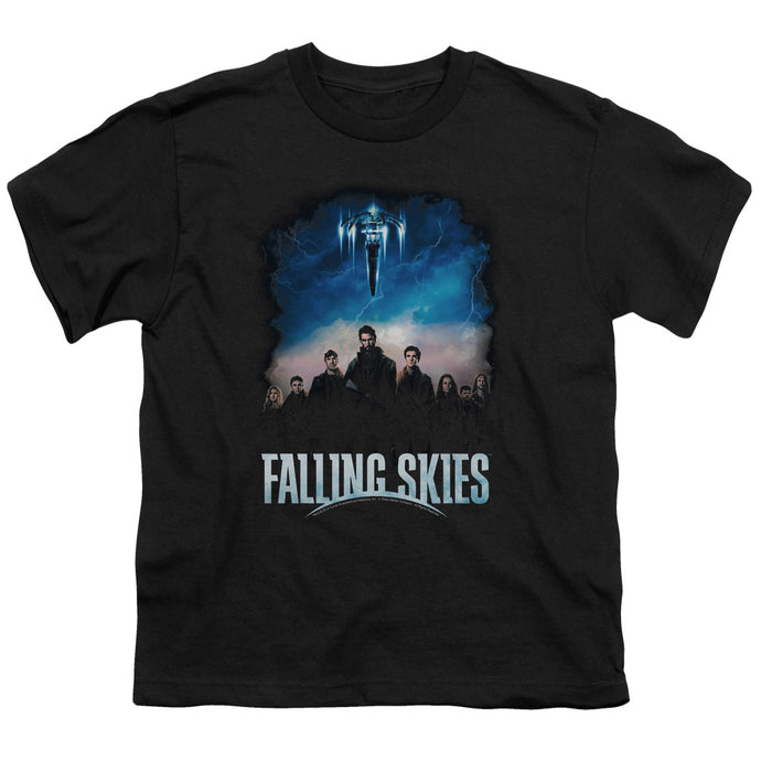 Falling Skies - Main Players Short Sleeve Youth 18/1 Tee - Special Holiday Gift
